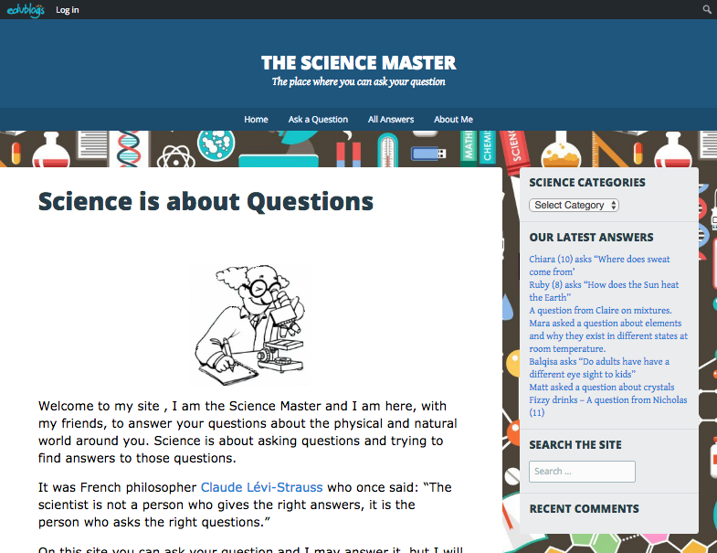science master website