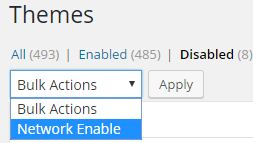 Network Enable