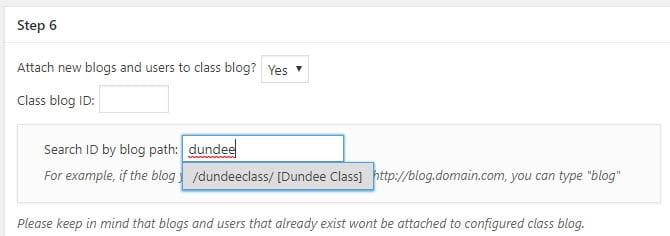 Select Class blog